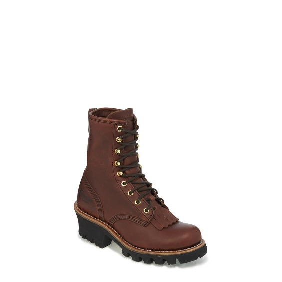 """Image for WOMEN'S 8"""" REDWOOD LOGGER BOOTS ; Style# L73026"""