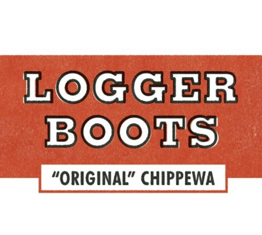 Original Chippewa Logger Header