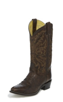 MEN'S DARK MARBLED DEERLITE WESTERN BOOTS