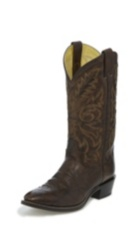 MEN'S BROWN MARBLED WESTERN BOOTS