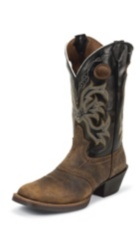 MEN'S  TAN DISTRESSED BUFFALO PUNCHY BOOTS
