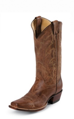 MEN'S TAN DISTRESSED VINTAGE GOAT WESTERN BOOTS