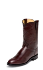 MEN'S BLACK CHERRY ROPER BOOTS