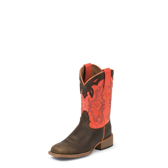 Image for LUCAS ORANGE boot; Style# 383JR