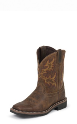 Justin Boots 4681jr Cattleman Tan