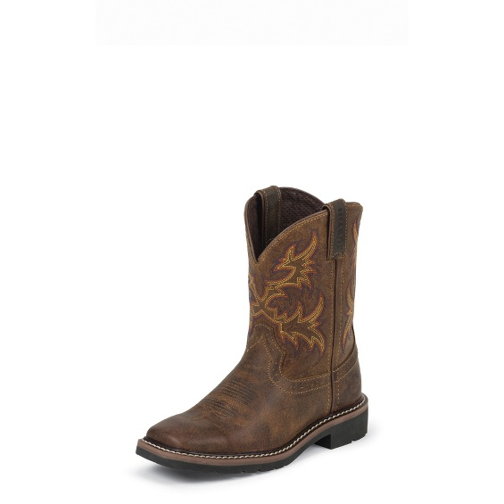 Image for CATTLEMAN TAN boot; Style# 4681JR