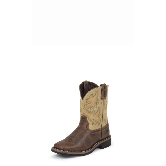 Image for CATTLEMAN BROWN boot; Style# 4683JR