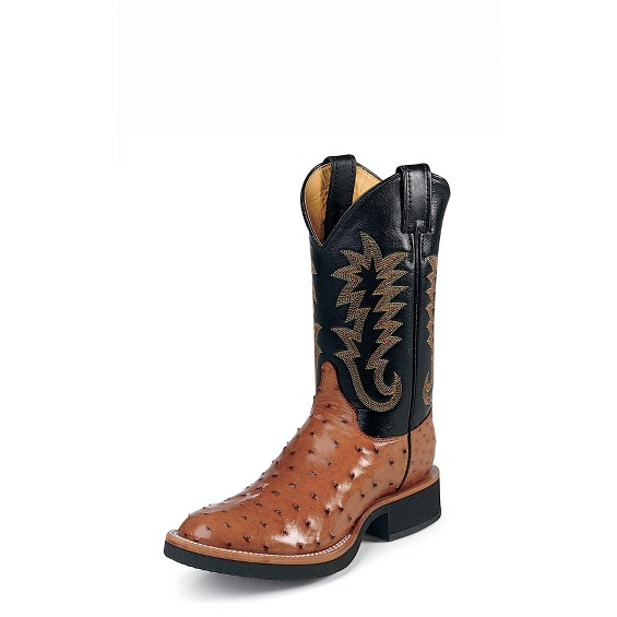 Image for PALUXY COGNAC FULL QUILL boot; Style# 5014