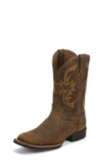 MEN'S COPPER BUFFALO STAMPEDE CATTLEMAN WATERPROOF BOOTS