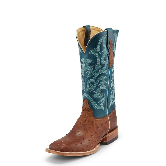 Image for PASCOE TAN FULL QUILL boot; Style# 8584
