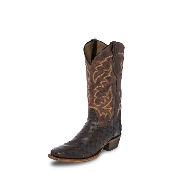 Image for CAIN BROWN FULL QUILL boot; Style# 8586