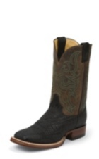 MEN'S BLACK ELEPHANT AQHA REMUDA® BOOTS