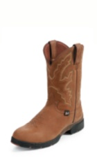 MEN'S COFFEE BROWN GEORGE STRAIT WATERPROOF BOOTS