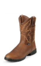 MEN'S LIGHT BROWN GEORGE STRAIT WATERPROOF BOOTS