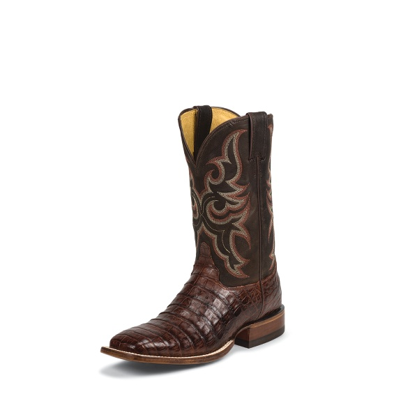 Image for LUCKY COGNAC CAIMAN boot; Style# 9616