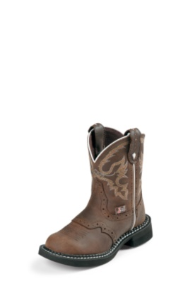 KIDS' AGED BARK JUSTIN GYPSY™ BOOTS