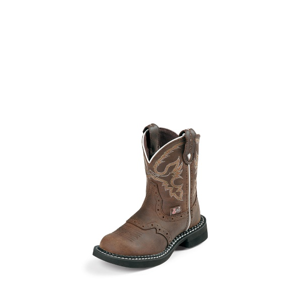 Image for NURI BROWN YOUTH boot; Style# 9909Y