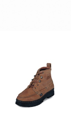 MEN'S COPPER GRIZZLY CHUKKA CASUAL BOOTS