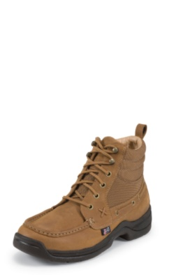 MEN'S RODEO CLOTH/LATIGO LEATHER CHUKKA CASUAL BOOTS