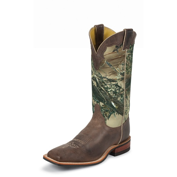 Image for AMERICA CHOCOLATE COWHIDE boot; Style# BR355