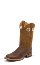 MEN'S BROWN BENT RAIL® BOOTS WITH BROWN BRUSHED TOP