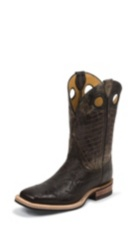 MEN'S BLACK BENT RAIL® BOOTS WITH BLACK TEXTURED TOP