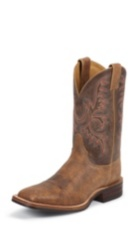 MEN'S BROWN BENT RAIL® BOOTS WITH CLASSIC STITCH TOP