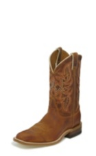 MEN'S DISTRESSED COGNAC BENT RAIL® BOOTS