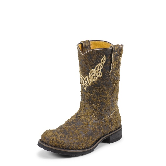 Image for ANTIQUED BROWN W/BLACK boot; Style# BR9933