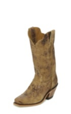 WOMEN'S CRACKED DARK BROWN BENT RAIL® BOOTS