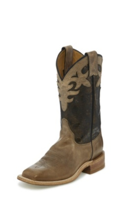 WOMEN'S ANTIQUE BEIGE COWHIDE BENT RAIL® BOOTS