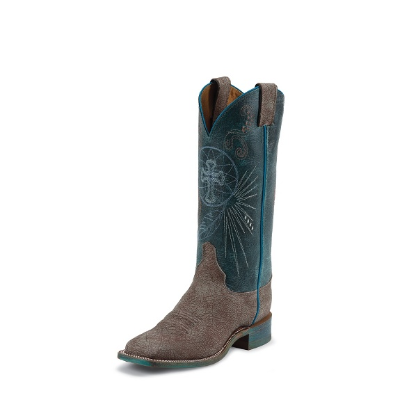 Image for BLUE HAZE COWHIDE boot; Style# BRL321