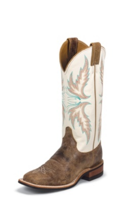 WOMEN'S TAN PUMA COWHIDE BENT RAIL® BOOTS