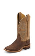 WOMEN'S BROWN BENT RAIL® BOOTS WITH TAN TOP