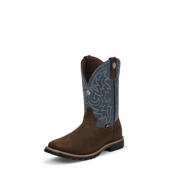 Image for FIREMAN BLUE boot; Style# GS9052