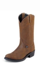 MEN'S BROWN FARM & RANCH BOOTS