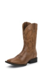 MEN'S BURNISHED BROWN FARM & RANCH BOOTS