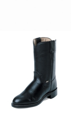 MEN'S BLACK COW FARM & RANCH WESTERN BOOTS