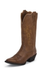 WOMEN'S BURNISHED BROWN FARM & RANCH BOOTS