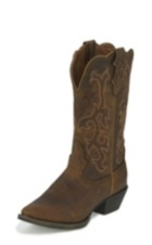 WOMEN'S TAN STAMPEDE WESTERN BOOTS