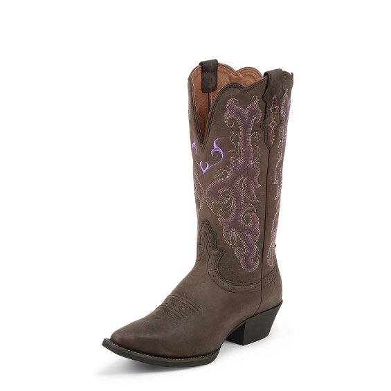 Image for CHOCOLATE PUMA COW boot; Style# L2562