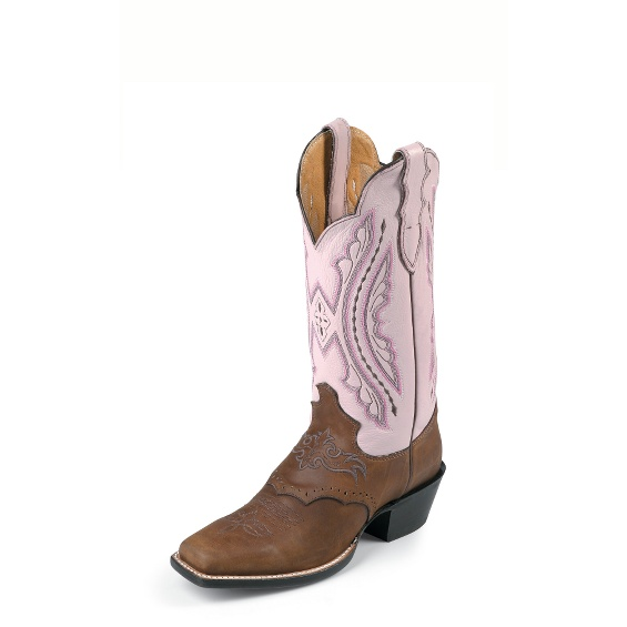 Image for COFFEE WESTERNER W/SADDLE VAMP boot; Style# L2667