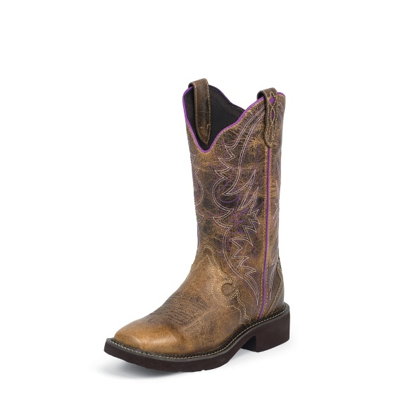 Image for RAYA DISTRESSED TAN boot; Style# L2918