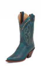 WOMEN'S TURQUOISE FASHION BOOTS