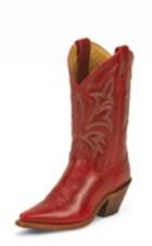 WOMEN'S DARK RED FASHION BOOTS