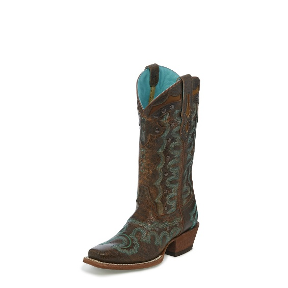 Image for FAXON BROWN boot; Style# L4360