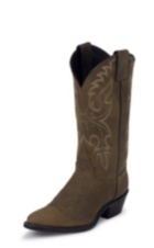 WOMEN'S BROWN CLASSIC WESTERN BOOTS