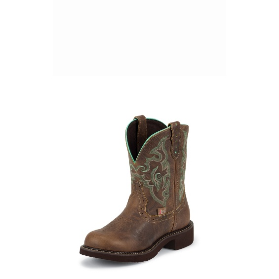 Justin Boots L9606 Gemma Brown Short
