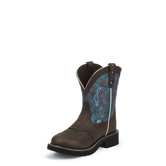 Image for GEMMA CHOCOLATE boot; Style# L9623