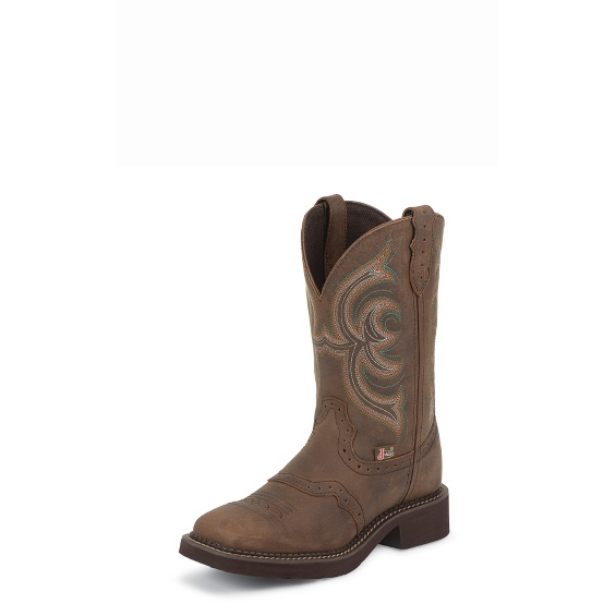 Image for INJI BROWN boot; Style# L9984